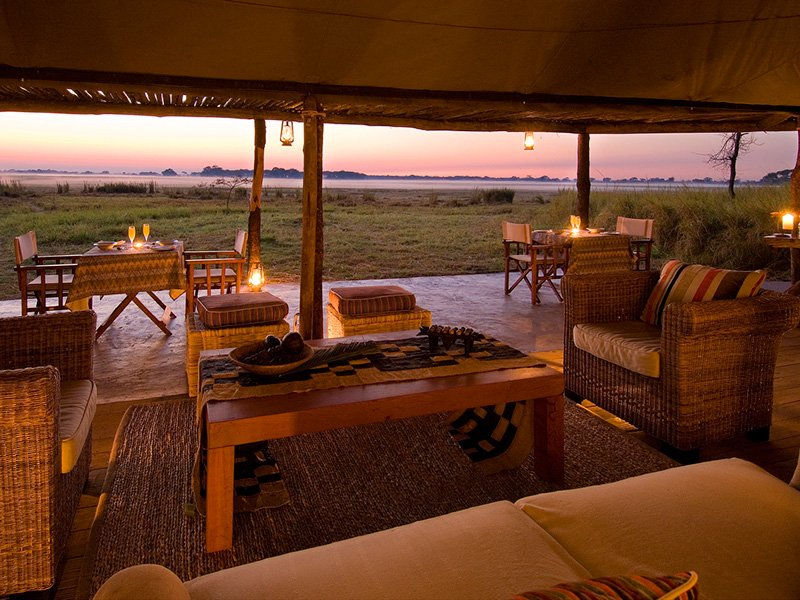 Zambia-Kafue-BusangaPlains-EveningLouge