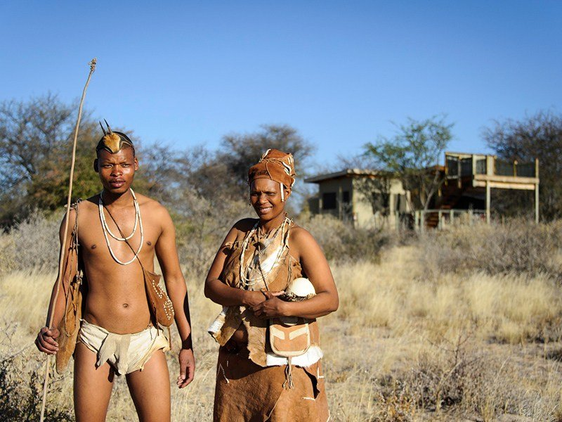 Botswana-Kalahari-Kalahari-Plains-San-People